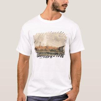 T-shirt Vue d'une usine de sucre