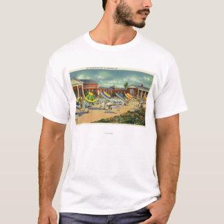 T-shirt Vue d'unité de récréation de spa de Saratoga