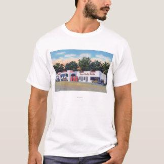 T-shirt Vue extérieure de camp Walla Walla