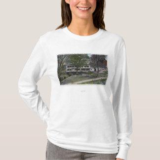 T-shirt Vue extérieure de Chambre de ferme de falaises de
