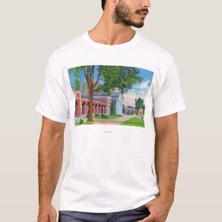 T-shirt Vue extérieure de Hall des ressorts et des raisons