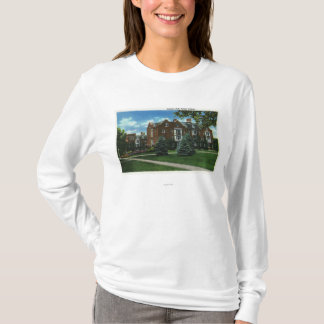 T-shirt Vue extérieure de Josselyn Hall, université de
