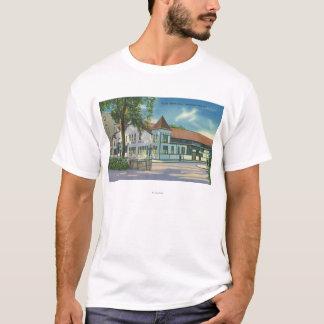 T-shirt Vue extérieure de la boisson Hall d'état