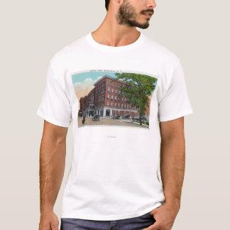 T-shirt Vue extérieure de l'hôtel de Carlton
