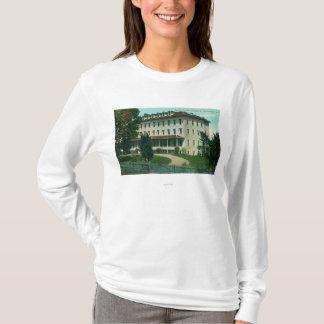T-shirt Vue extérieure de l'université Pacifique des