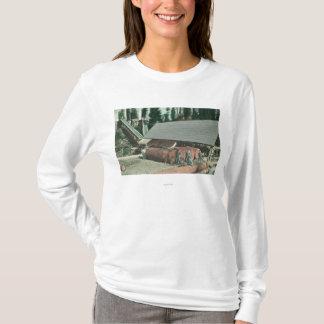 T-shirt Vue extérieure de MillRedding de Benton, CA
