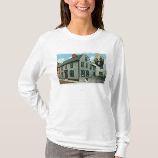 T-shirt Vue extérieure de Nathaniel Hawthorne