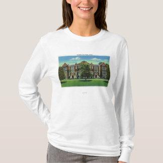 T-shirt Vue extérieure de Rockefeller Hall, Vassar