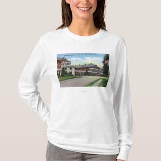 T-shirt Vue extérieure de sanatorium de Raybrook
