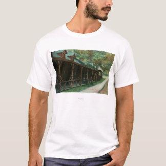 T-shirt Vue extérieure de taverne et de chaussée de Fitch