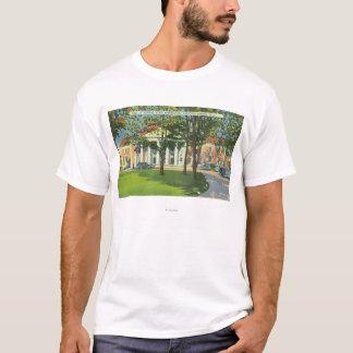 T-shirt Vue extérieure du Hall des ressorts