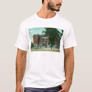 T-shirt Vue extérieure du lycée 3