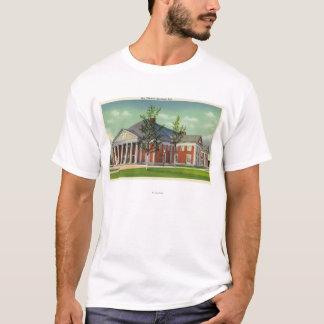 T-shirt Vue extérieure du théâtre de spa de Saratoga
