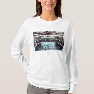 T-shirt Vue intérieure des bains d'eau salée de Nerides