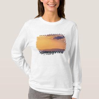 T-shirt Vue panoramique d'arbre simple d'acacia à