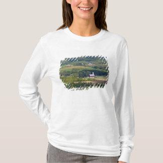 T-shirt Vue pittoresque des terres cultivables au sud de