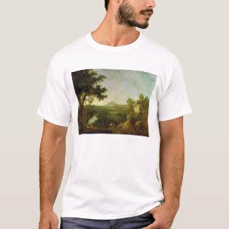 T-shirt Vue près de Wynnstay, Seat de monsieur Watkin