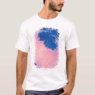 T-shirt Vue satellite