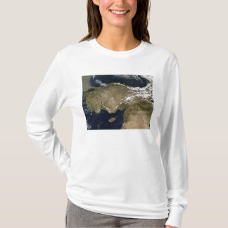 T-shirt Vue satellite de la Turquie
