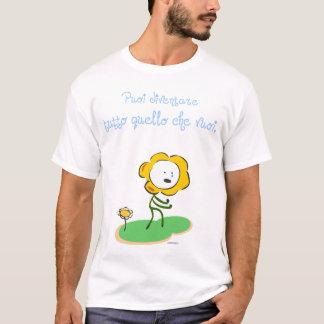 """T-shirt """"Vuoi de che de quello de tutto de diventare de"""