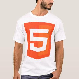 T-shirt W3 W3C de fonctionnaire de logo de HTML 5