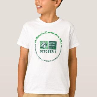 T-shirt W.A.D. 2015 ensemble nous faisons la pièce en t de