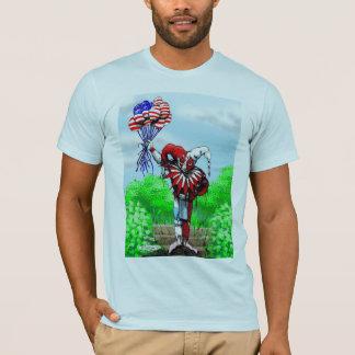 T-shirt W-ballons de farceur
