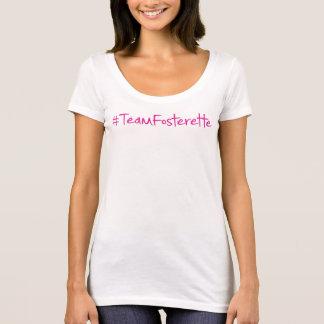 T-shirt w/bookaholic de cou de scoop de