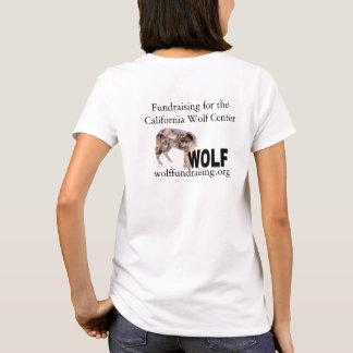 T-shirt W.O.L.F. Chemise de logo