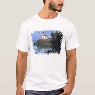 T-shirt WA, île de San Juan, phare de four à chaux