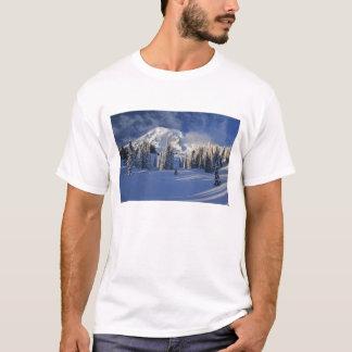 T-shirt WA, mont Rainier NP, mont Rainier et paradis
