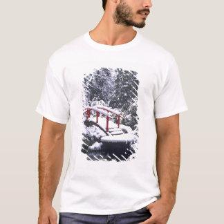 T-shirt WA, pont de Seattle, en lune et étang après