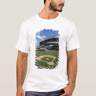 T-shirt WA, Seattle, champ de Safeco, base-ball de marins