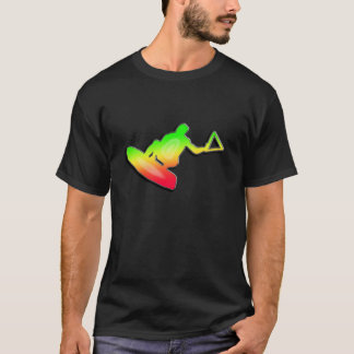 T-shirt Wakeboarder lisse