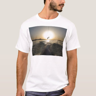 T-shirt Wakeboarding