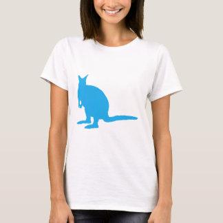 T-shirt Wallaby. bleu