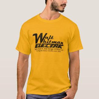 T-shirt Walt Whitman électrique