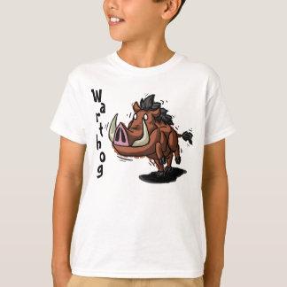 T-shirt Warthog badine la chemise