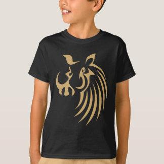 T-shirt Warthog dans le style chic de dessin