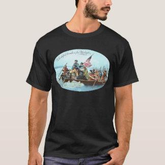 T-shirt Washington croisant le Delaware