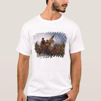 T-shirt Washington croisant le fleuve Delaware