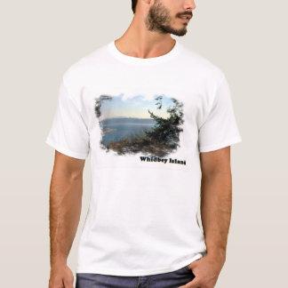 T-shirt Waterscape d'île de Whidbey
