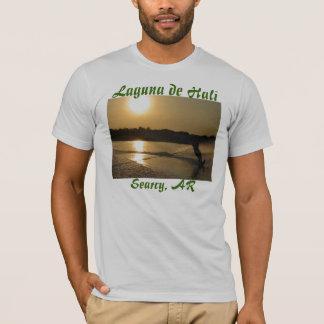 T-shirt waterskier, Laguna de Hali, Searcy, AR