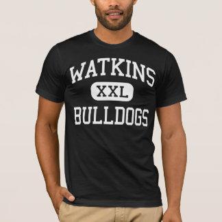 T-shirt Watkins - bouledogues - junior - Houston le Texas