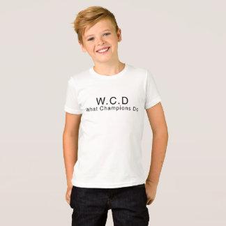 T-shirt WCD badine la chemise - édition de Dylan