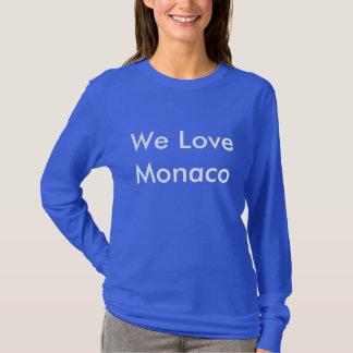 """T-Shirt """"We Love Monaco"""" manches longues"""