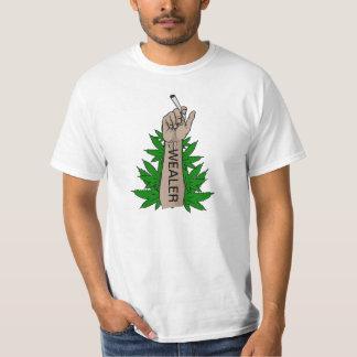 T-shirt wealer weed