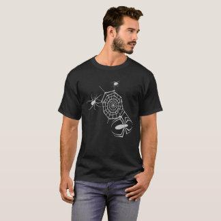 T-shirt Web spider de veuve noire de Halloween