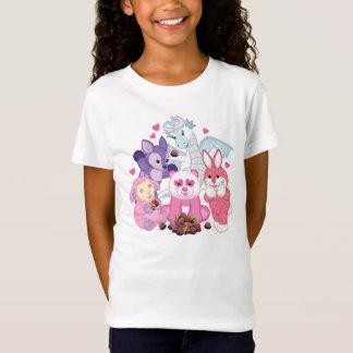 T-Shirt Webkinz choie les chocolats de Valentine d'amour