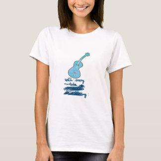 T-shirt Weeping guitar